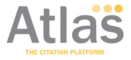 Atlas The Citation Platform