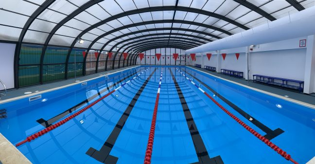 colchester county high school swimming pool leary brothers ltd